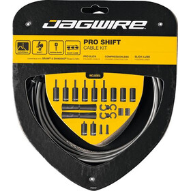 Jagwire 2X Pro Shift Schakelkabel Set, grijs